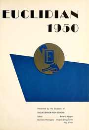 Page 5, 1950 Edition, Euclid High School - Euclidian Yearbook (Euclid, OH) online yearbook collection