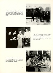 Page 14, 1956 Edition, Euclid High School - Euclidian Yearbook (Euclid, OH) online yearbook collection