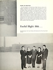 Page 9, 1959 Edition, Euclid High School - Euclidian Yearbook (Euclid, OH) online yearbook collection