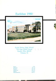 Page 7, 1980 Edition, Euclid High School - Euclidian Yearbook (Euclid, OH) online yearbook collection