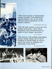 Page 13, 1982 Edition, Euclid High School - Euclidian Yearbook (Euclid, OH) online yearbook collection