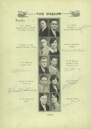 Page 10, 1931 Edition, Fairmont West High School - Dragon Yearbook (Kettering, OH) online yearbook collection