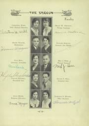 Page 11, 1931 Edition, Fairmont West High School - Dragon Yearbook (Kettering, OH) online yearbook collection