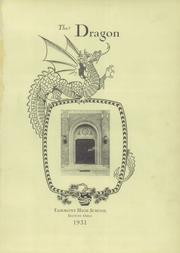 Page 5, 1931 Edition, Fairmont West High School - Dragon Yearbook (Kettering, OH) online yearbook collection