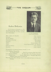 Page 9, 1931 Edition, Fairmont West High School - Dragon Yearbook (Kettering, OH) online yearbook collection