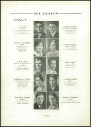Page 10, 1935 Edition, Fairmont West High School - Dragon Yearbook (Kettering, OH) online yearbook collection