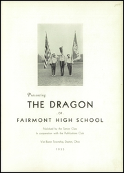 Page 5, 1935 Edition, Fairmont West High School - Dragon Yearbook (Kettering, OH) online yearbook collection