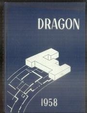 1958 Edition, Fairmont West High School - Dragon Yearbook (Kettering, OH)