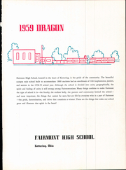 Page 7, 1959 Edition, Fairmont West High School - Dragon Yearbook (Kettering, OH) online yearbook collection