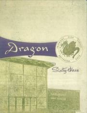 1963 Edition, Fairmont West High School - Dragon Yearbook (Kettering, OH)