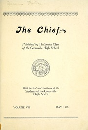 Page 9, 1918 Edition, Greenville High School - Chief Yearbook (Greenville, OH) online yearbook collection