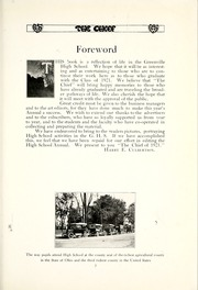 Page 17, 1921 Edition, Greenville High School - Chief Yearbook (Greenville, OH) online yearbook collection