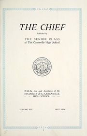 Page 7, 1924 Edition, Greenville High School - Chief Yearbook (Greenville, OH) online yearbook collection