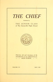 Page 11, 1925 Edition, Greenville High School - Chief Yearbook (Greenville, OH) online yearbook collection