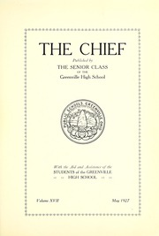 Page 7, 1927 Edition, Greenville High School - Chief Yearbook (Greenville, OH) online yearbook collection