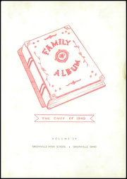 Page 7, 1949 Edition, Greenville High School - Chief Yearbook (Greenville, OH) online yearbook collection