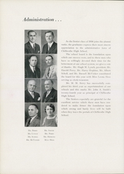Page 14, 1938 Edition, Chillicothe High School - Arrow Yearbook (Chillicothe, OH) online yearbook collection