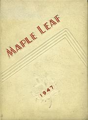 1947 Edition, Maple Heights High School - Maple Leaf Yearbook (Maple Heights, OH)