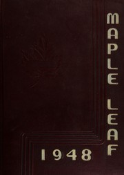 1948 Edition, Maple Heights High School - Maple Leaf Yearbook (Maple Heights, OH)