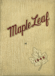 1949 Edition, Maple Heights High School - Maple Leaf Yearbook (Maple Heights, OH)