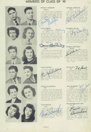 Page 13, 1949 Edition, Maple Heights High School - Maple Leaf Yearbook (Maple Heights, OH) online yearbook collection