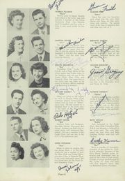 Page 15, 1949 Edition, Maple Heights High School - Maple Leaf Yearbook (Maple Heights, OH) online yearbook collection