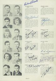 Page 17, 1949 Edition, Maple Heights High School - Maple Leaf Yearbook (Maple Heights, OH) online yearbook collection