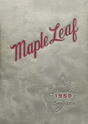 1950 Edition, Maple Heights High School - Maple Leaf Yearbook (Maple Heights, OH)