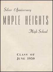 Page 5, 1950 Edition, Maple Heights High School - Maple Leaf Yearbook (Maple Heights, OH) online yearbook collection
