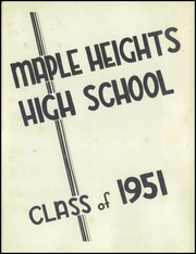 Page 5, 1951 Edition, Maple Heights High School - Maple Leaf Yearbook (Maple Heights, OH) online yearbook collection
