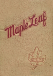 1952 Edition, Maple Heights High School - Maple Leaf Yearbook (Maple Heights, OH)