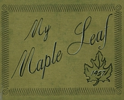 1957 Edition, Maple Heights High School - Maple Leaf Yearbook (Maple Heights, OH)