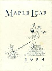 Page 1, 1958 Edition, Maple Heights High School - Maple Leaf Yearbook (Maple Heights, OH) online yearbook collection