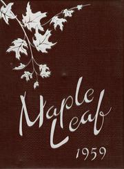 1959 Edition, Maple Heights High School - Maple Leaf Yearbook (Maple Heights, OH)