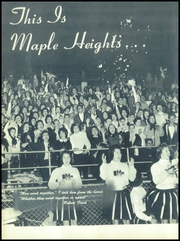 Page 10, 1960 Edition, Maple Heights High School - Maple Leaf Yearbook (Maple Heights, OH) online yearbook collection