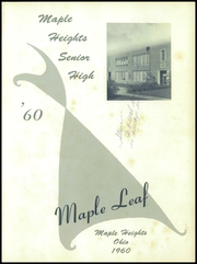 Page 5, 1960 Edition, Maple Heights High School - Maple Leaf Yearbook (Maple Heights, OH) online yearbook collection