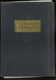 Page 1, 1932 Edition, Anderson High School - Andersonian Yearbook (Cincinnati, OH) online yearbook collection