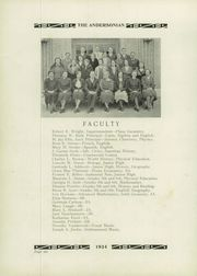 Page 10, 1934 Edition, Anderson High School - Andersonian Yearbook (Cincinnati, OH) online yearbook collection