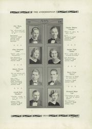Page 15, 1934 Edition, Anderson High School - Andersonian Yearbook (Cincinnati, OH) online yearbook collection