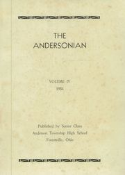 Page 5, 1934 Edition, Anderson High School - Andersonian Yearbook (Cincinnati, OH) online yearbook collection