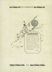 Page 6, 1934 Edition, Anderson High School - Andersonian Yearbook (Cincinnati, OH) online yearbook collection