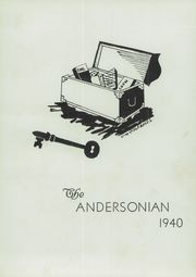 Page 7, 1940 Edition, Anderson High School - Andersonian Yearbook (Cincinnati, OH) online yearbook collection