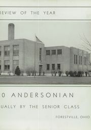 Page 9, 1940 Edition, Anderson High School - Andersonian Yearbook (Cincinnati, OH) online yearbook collection