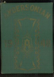 1948 Edition, Anderson High School - Andersonian Yearbook (Cincinnati, OH)