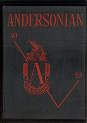 1955 Edition, Anderson High School - Andersonian Yearbook (Cincinnati, OH)