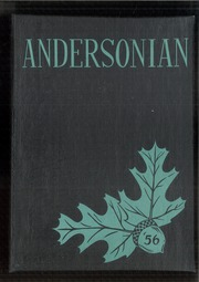 1956 Edition, Anderson High School - Andersonian Yearbook (Cincinnati, OH)