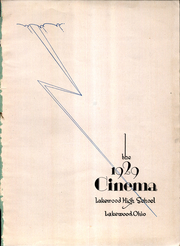 Page 5, 1929 Edition, Lakewood High School - Cinema Yearbook (Lakewood, OH) online yearbook collection