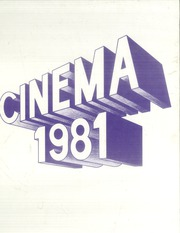 Page 1, 1981 Edition, Lakewood High School - Cinema Yearbook (Lakewood, OH) online yearbook collection