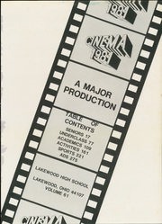 Page 5, 1981 Edition, Lakewood High School - Cinema Yearbook (Lakewood, OH) online yearbook collection