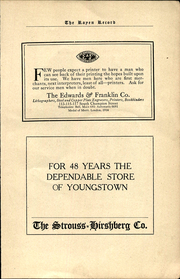 Page 7, 1923 Edition, Rayen School - Rayen Yearbook (Youngstown, OH) online yearbook collection